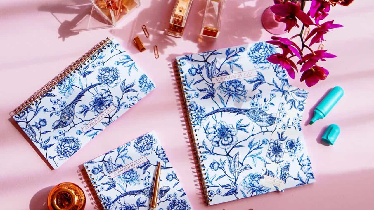 Supplied by Lily Luxury Lifestyle & Student Stationery