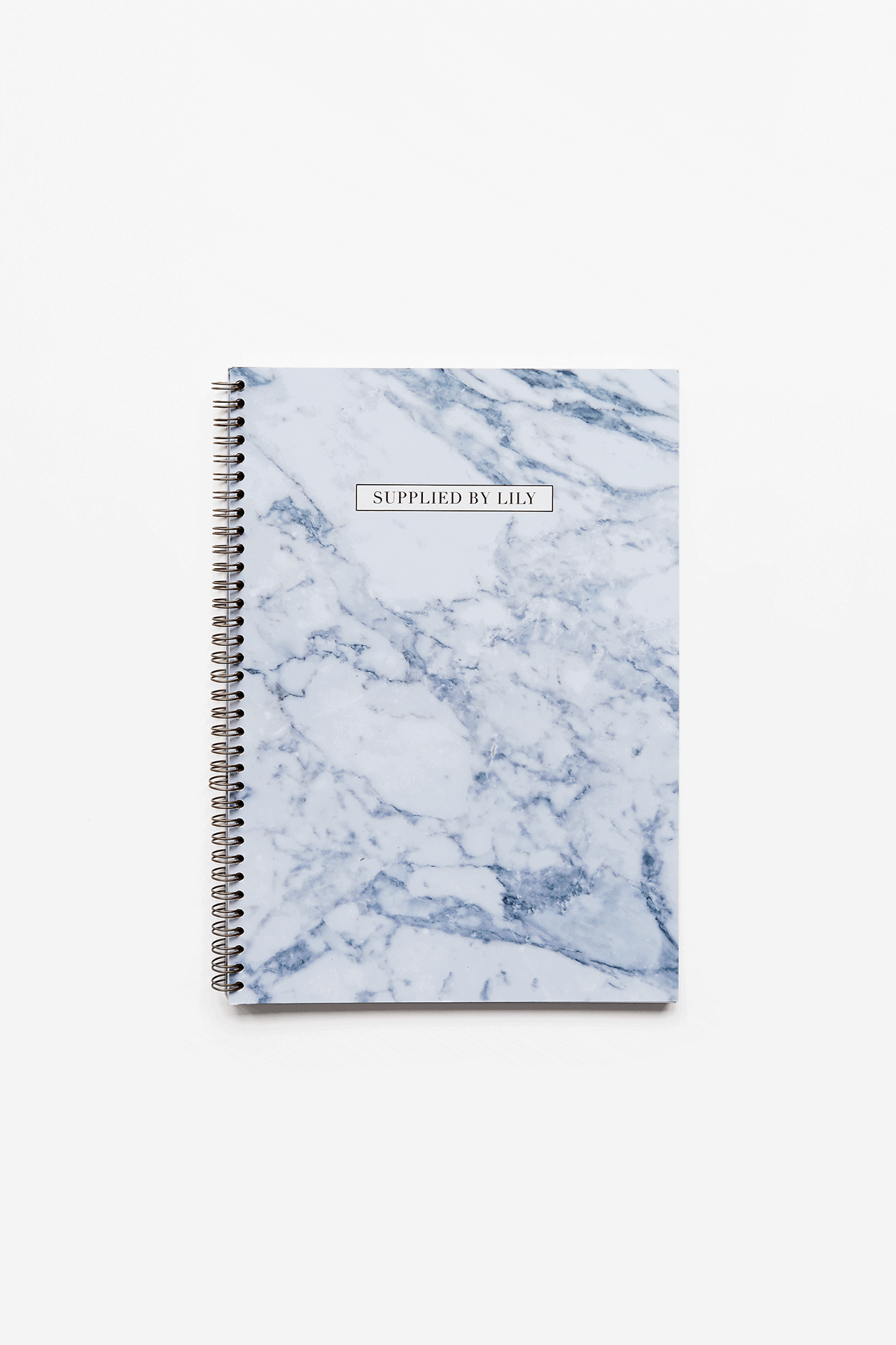 new concept 6b12c 626cd A4 Spiral Notebook in Luxurious Marble – Supplied by Lily   Luxury ...