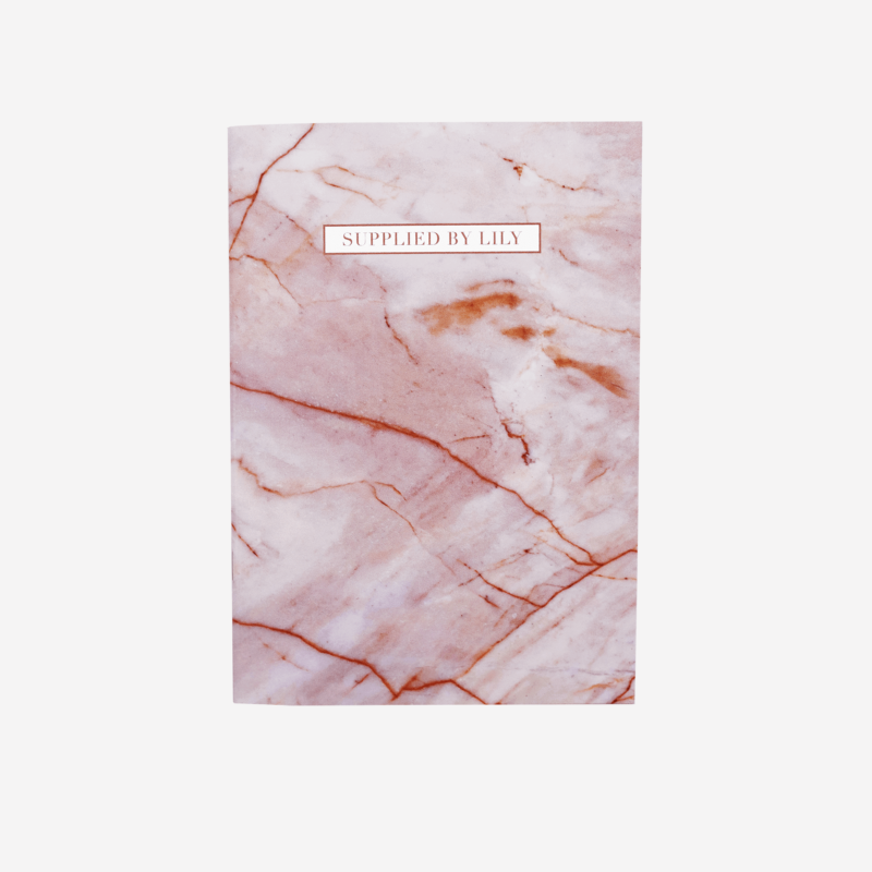 A5 Grid Notebook in Luxurious Rose Quartz