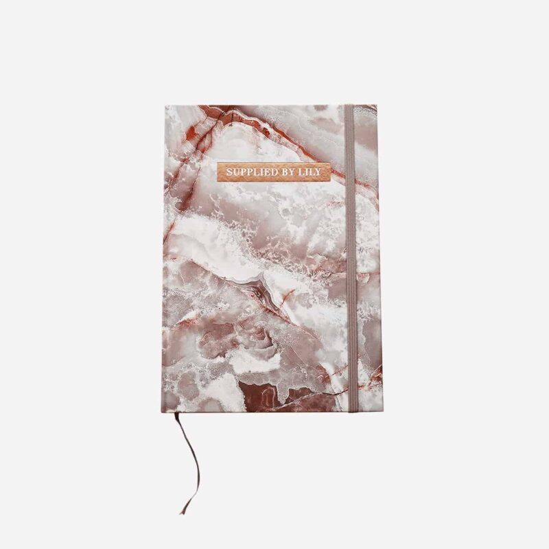 Diary Notebook in Luxurious Yashma