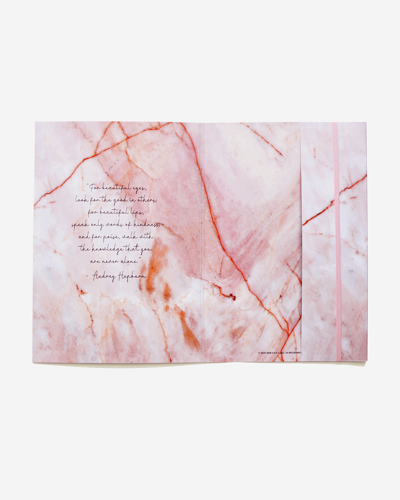 Supplied by Lily Document Folder in Luxurious Rose Quartz