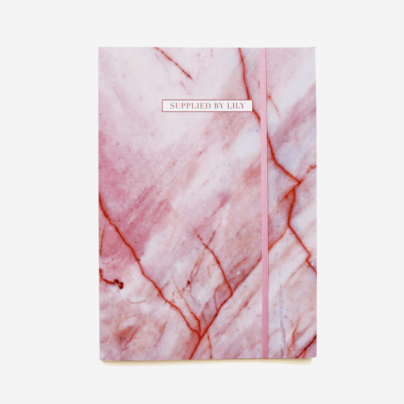 Document Folder in Luxurious Rose Quartz