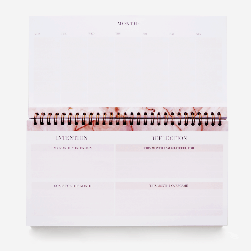 Supplied by Lily Lifestyle Desk Planner