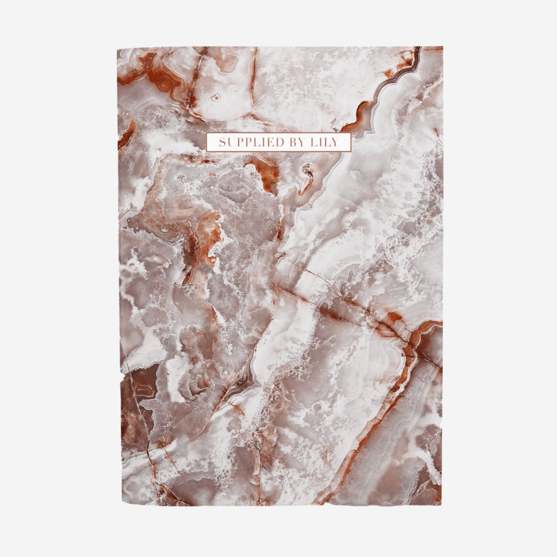 A4 Notebook in Luxurious Yashma
