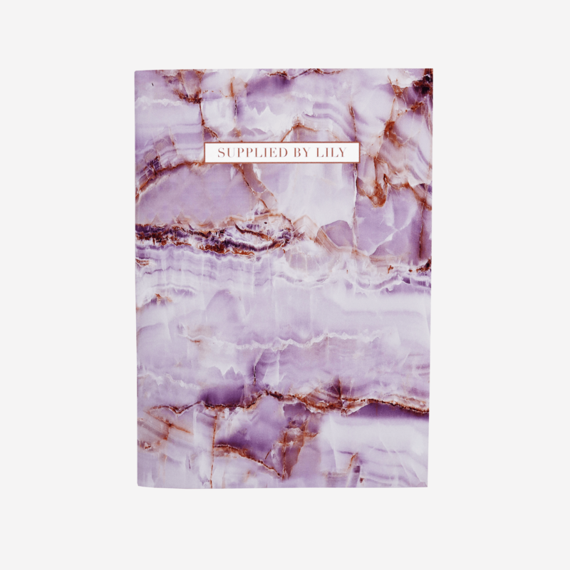 A5 Grid Notebook in Luxurious Amethyst